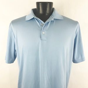 Men's Blue Peter Millar Golf Polo